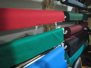 Kerrville pool table recovering table cloth colors